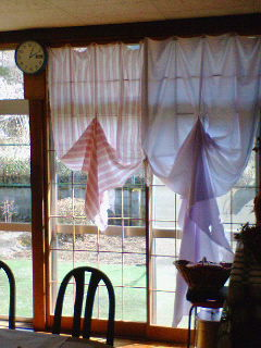 超簡単なカーテン