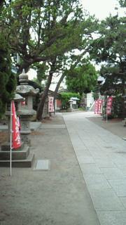 森戸神社あたり