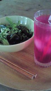 紫蘇ジュース作りました。