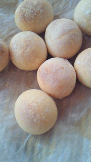 パン、焼き上げ