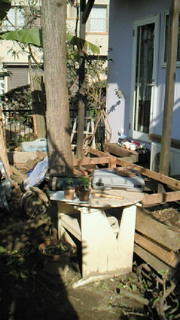6坪の庭、改善計画